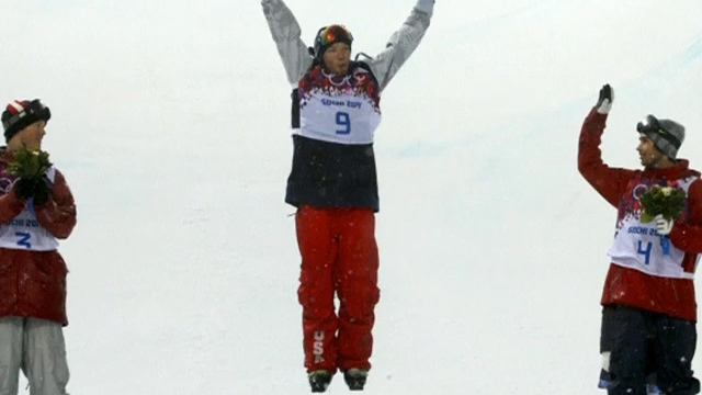 David Wise Grabs Gold in Olympic Freestyle Skiing Halfpipe