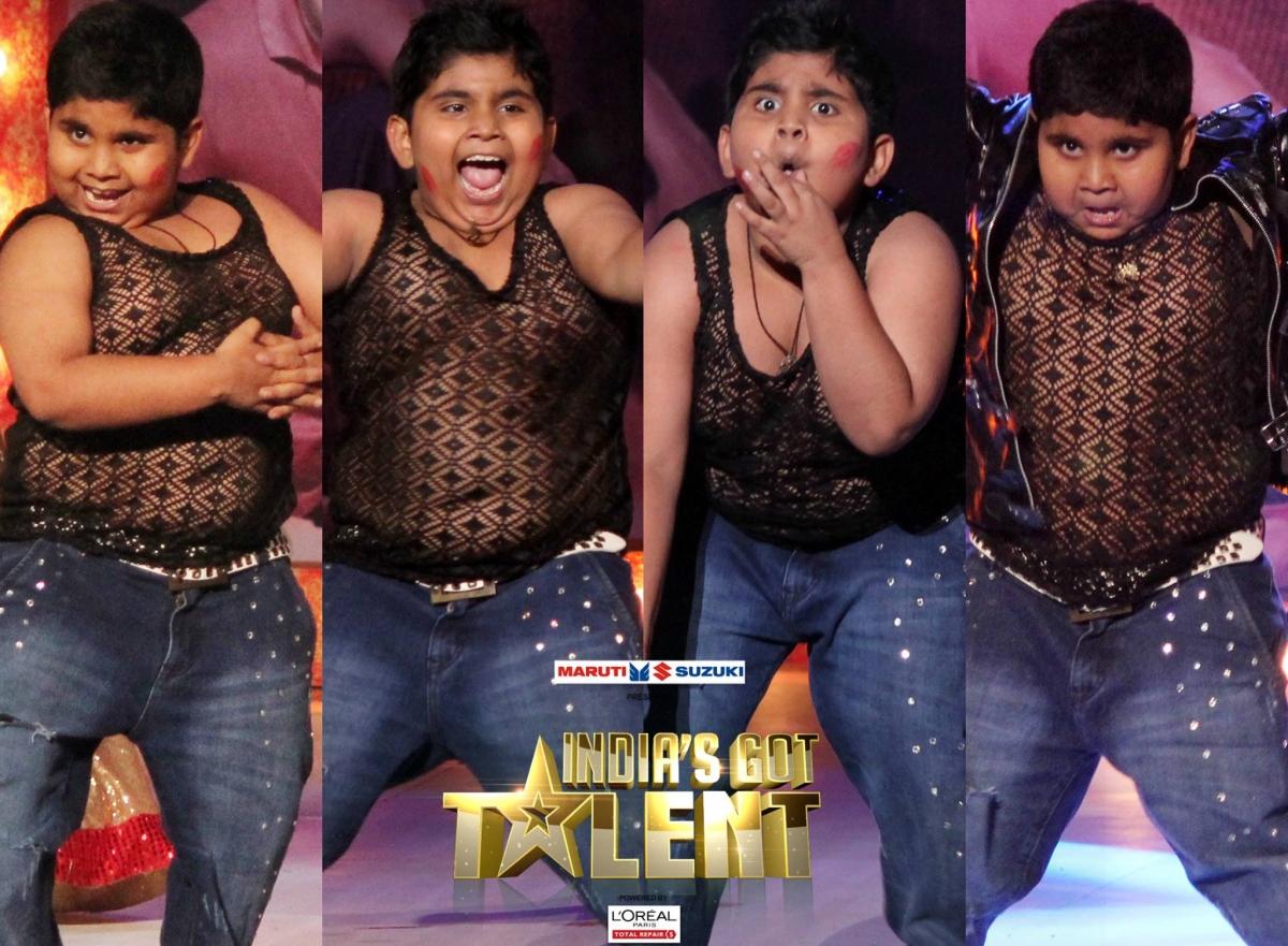 Akshat Singh at India's Got Talent
