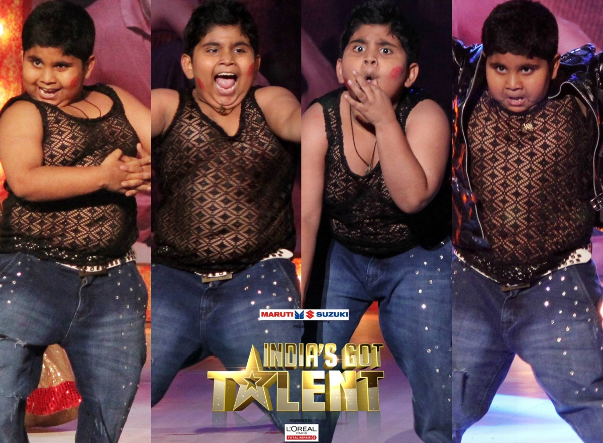 Akshat Singh at India's Got Talent