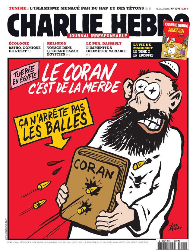 Charlie Hebdo frontpage