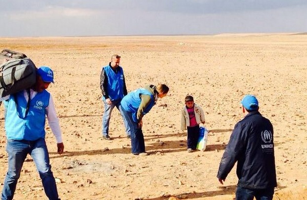 All not what it seemed in image of Marwan in the desert in Syria