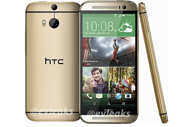 HTC One 2 2014 Leaked Image