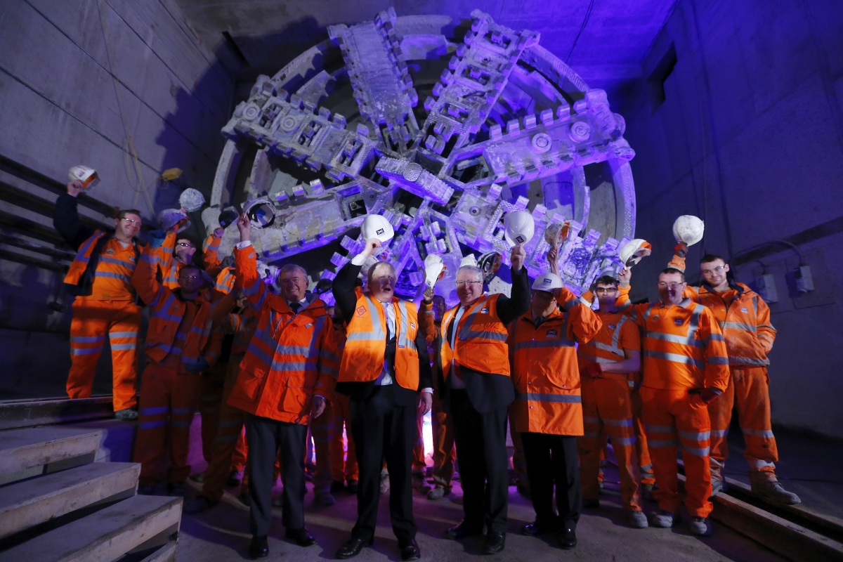 Crossrail Tfl Seals 163 1bn Deal With Bombardier Creating