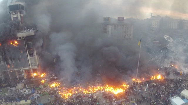 Ukraine: Lviv Declares Independence from Yanukovich