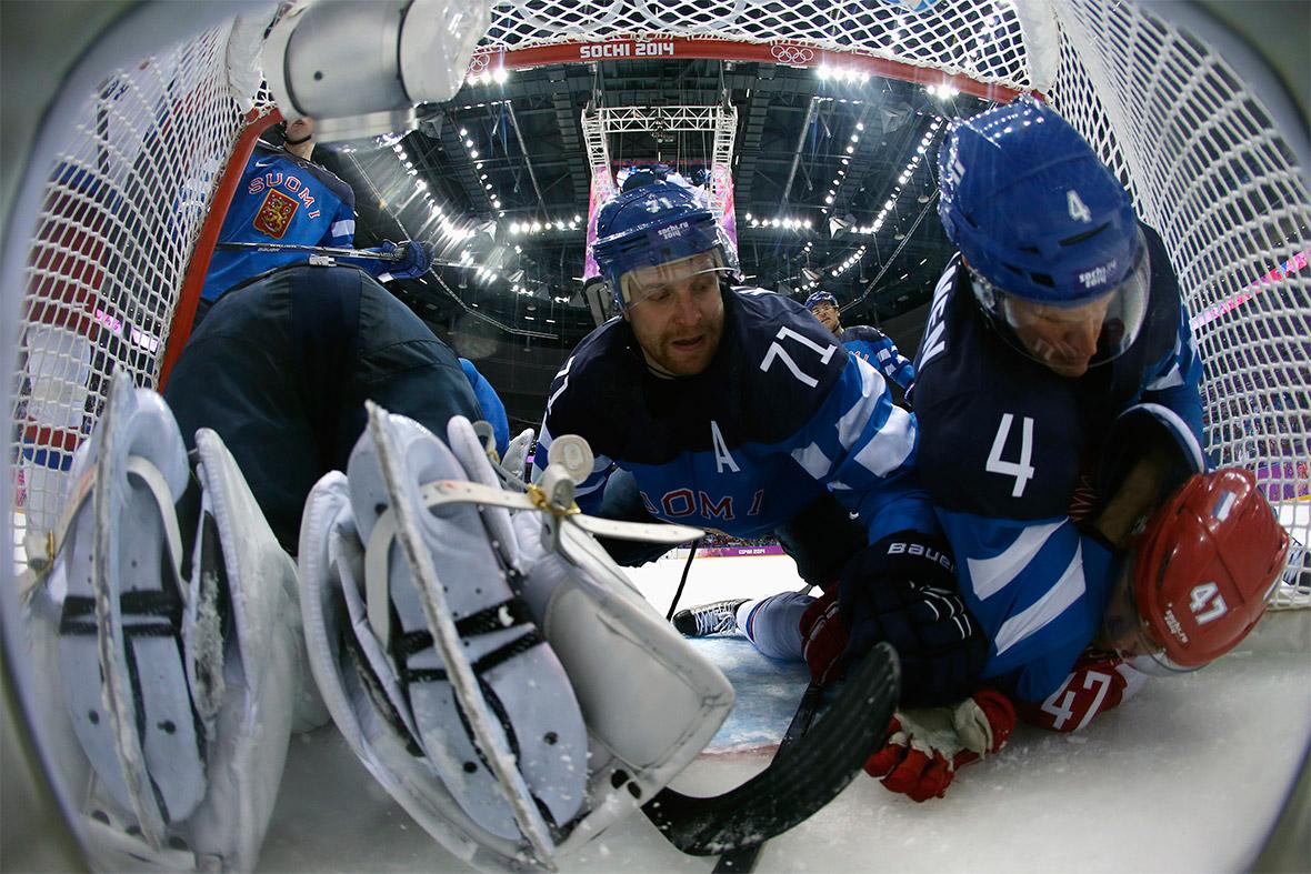 ice hckey goal