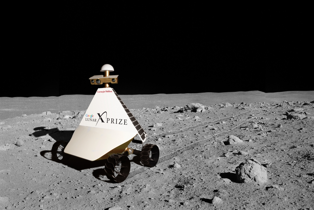 Astrobotic Technology's Red Rover, an entry in the Google Lunar XPrize competition