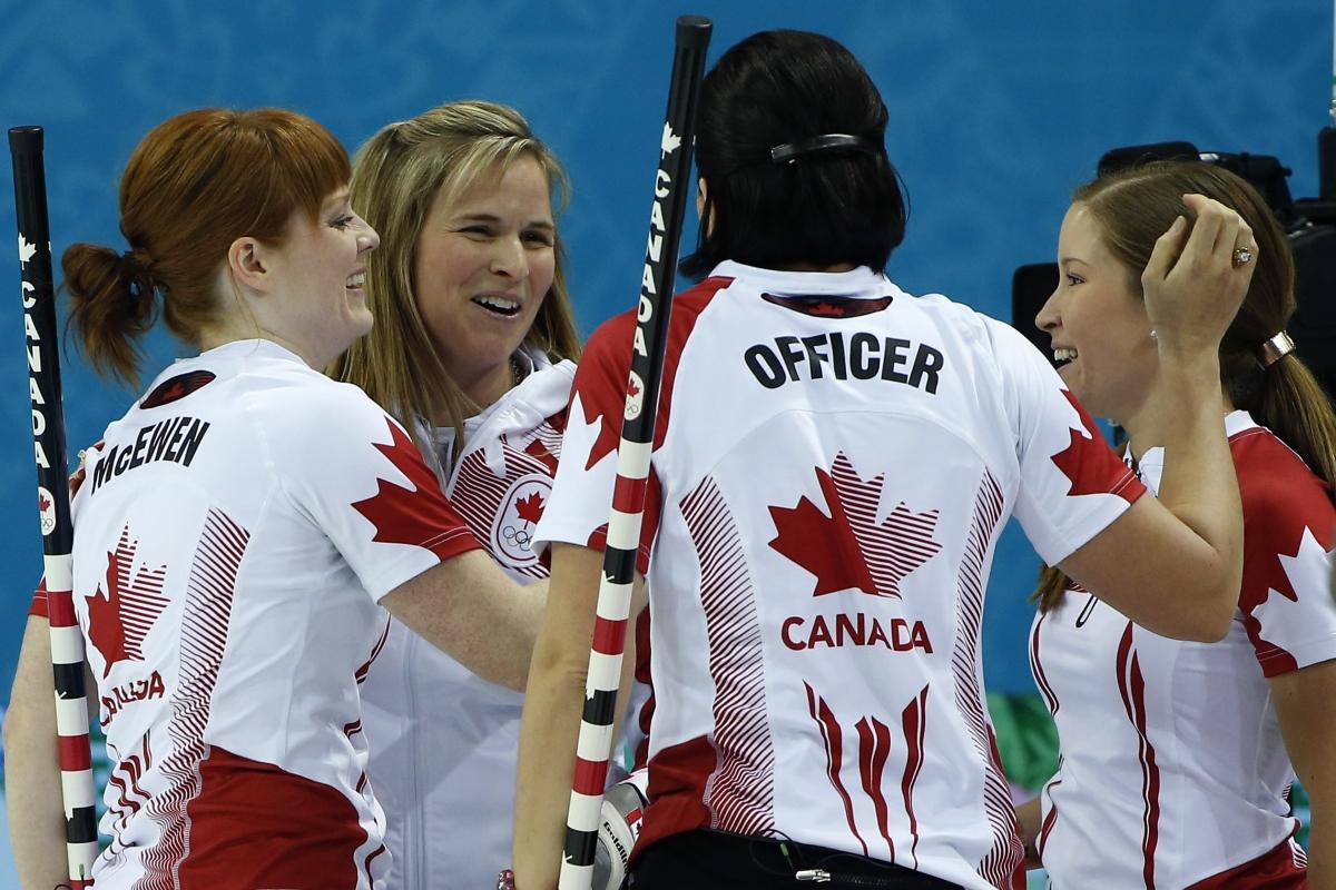 Canada Women's Curling Team