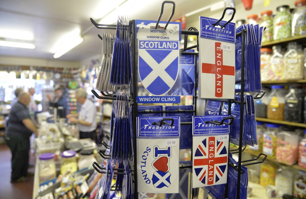 Scottish sticker