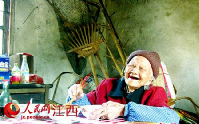 China oldest woman He Er'xiu