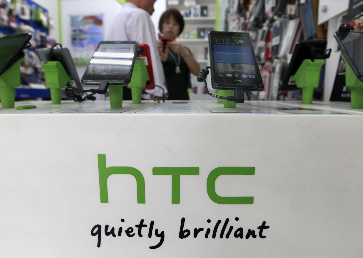 HTC CEO replaced