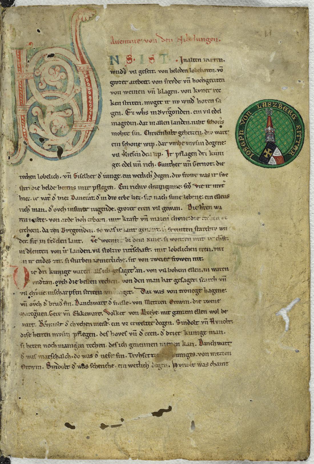 Nibelungenlied Poem