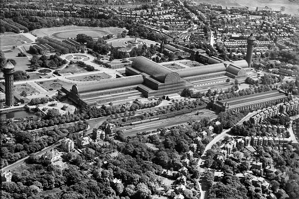 Crystal Palace, South London, 1928