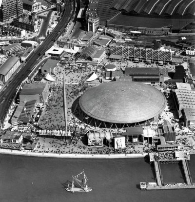 Festival of Britain, South Bank, 1951