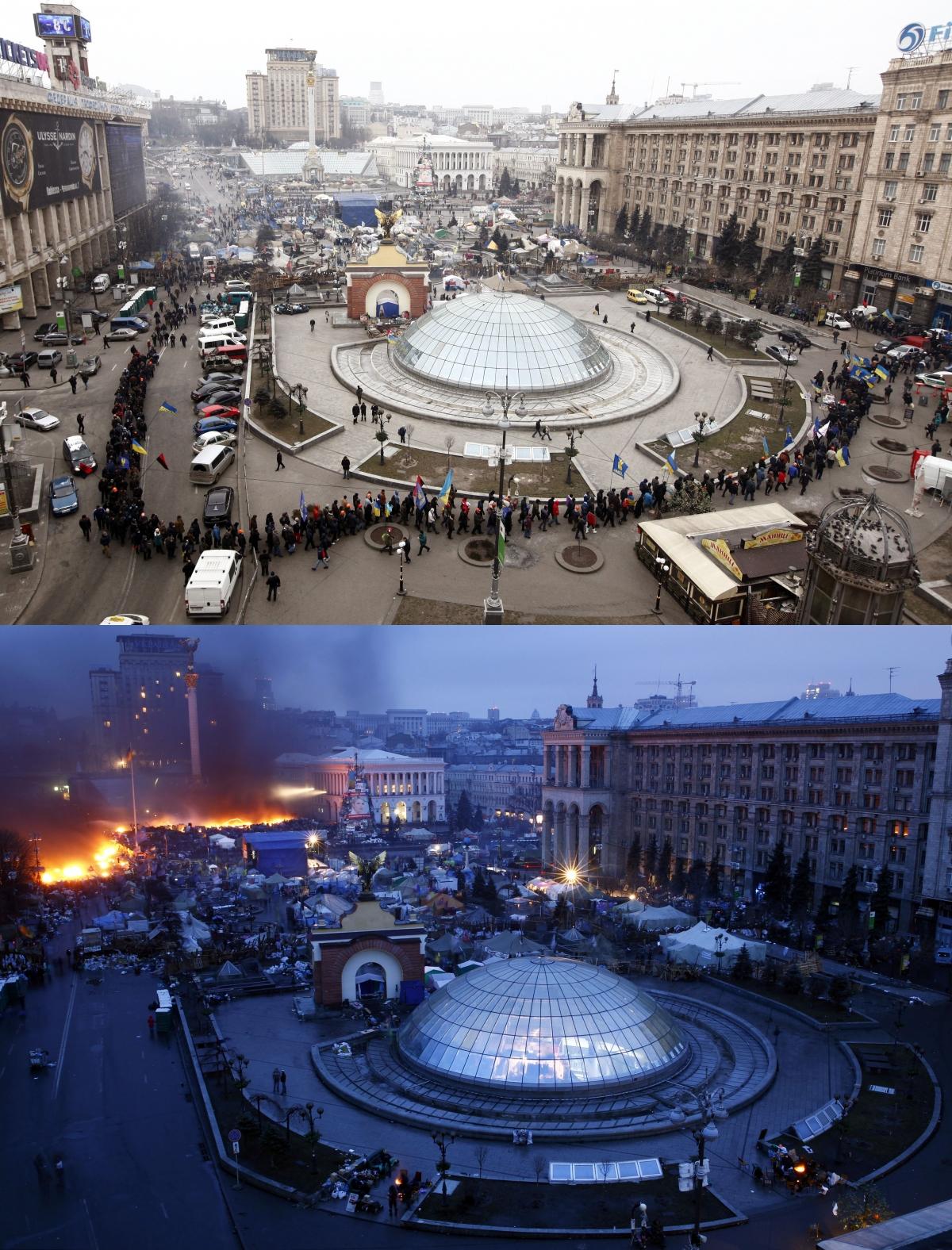 Independence Square, Kiev, Ukraine