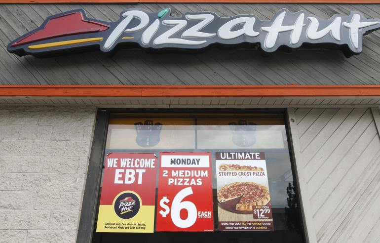 Pizza Hut Kitchen pizza hut closed after manager caught urinating in kitchen sink