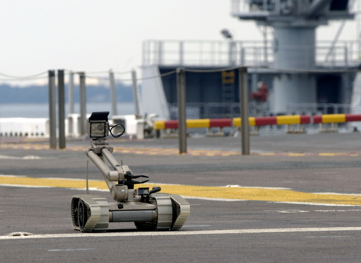 iRobot's military PackBot is being deployed at the FIFA World Cup in Brazil