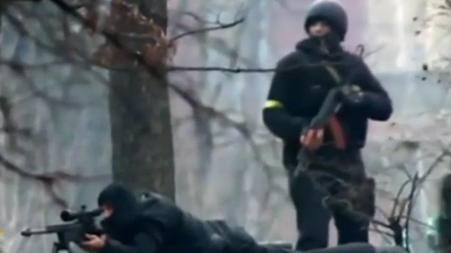 Ukraine: Video of Government Snipers' Massacre in Kiev