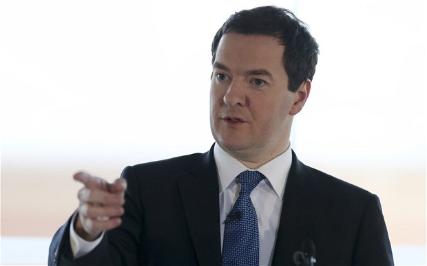 George Osborne: UK Recovery Unbalanced and Not Secure