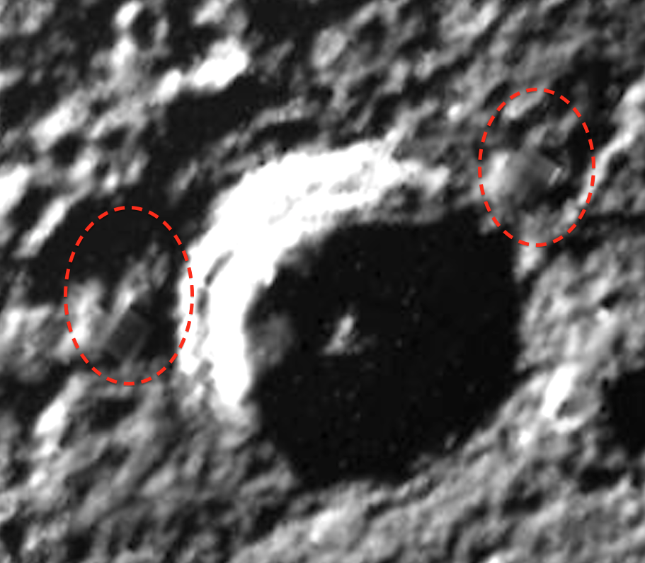 Do these structures point to extra-terrestrial life on Mercury?