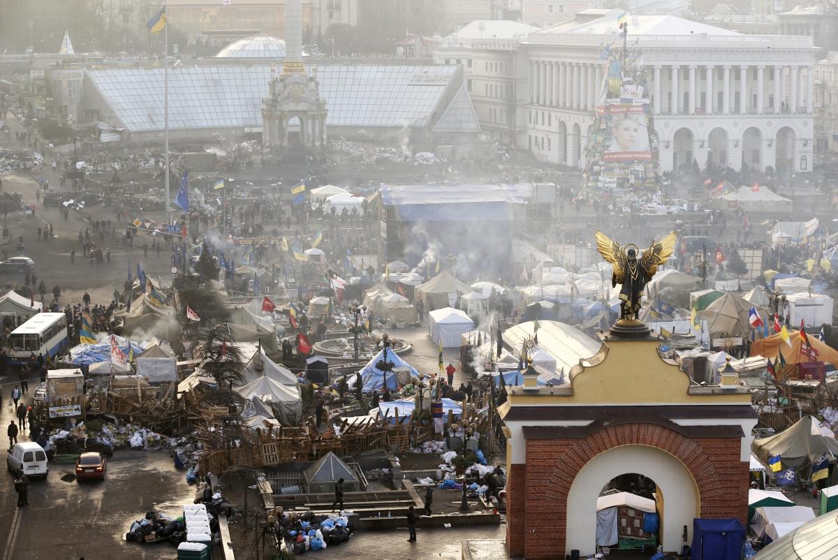 Ukraine protests and EU sanctions
