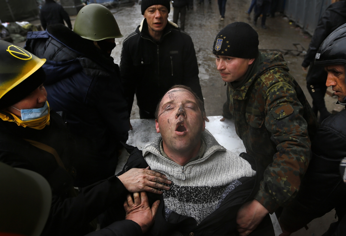 Ukraine protests and torture allegations