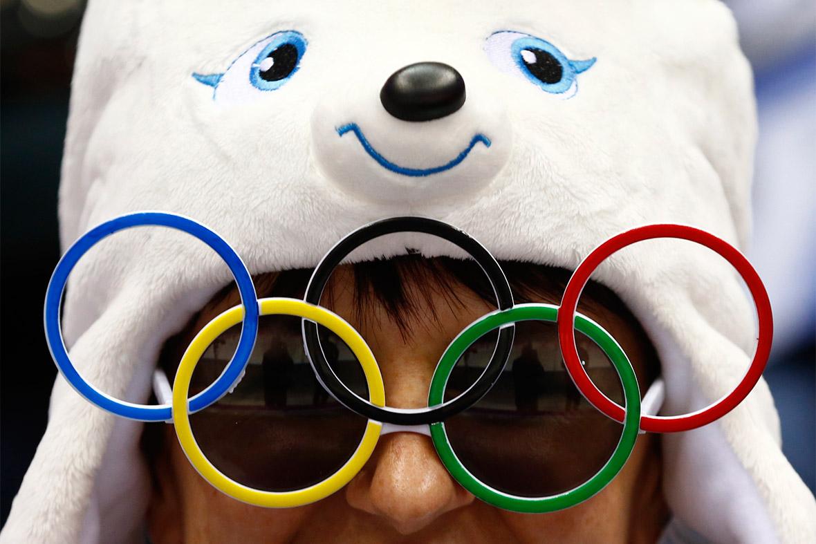 sochi polar bear