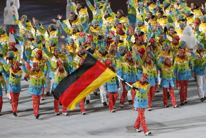 Germany opening ceremony