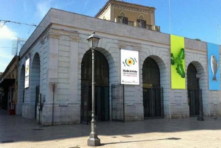 Sala Murat Gallery in Bari where modern art is rubbish