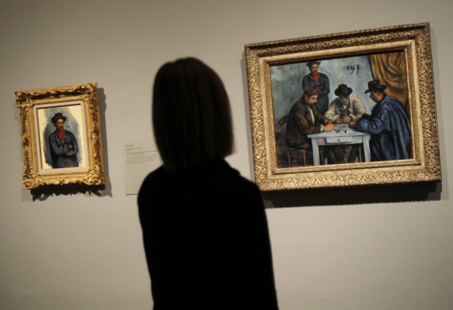 The Card Players by Paul Cézanne, which was sold by George Embiricos to the Qatar Royal family in a private sale in 2011 for £162m, is the world's most expensive painting.