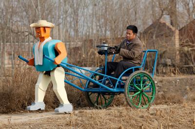robot rickshaw