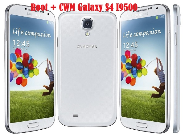 Root Galaxy S4 I9500 on Android 4 4 2 KitKat and Install CWM