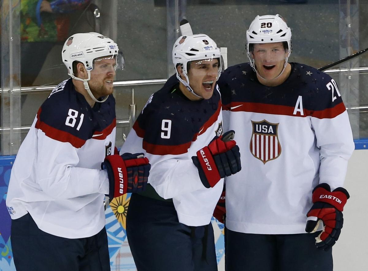 USA Men's Ice Hockey Team