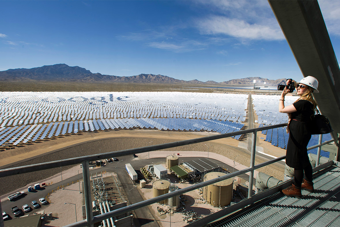Mirrors In The Desert Photos Of The Ivanpah Solar