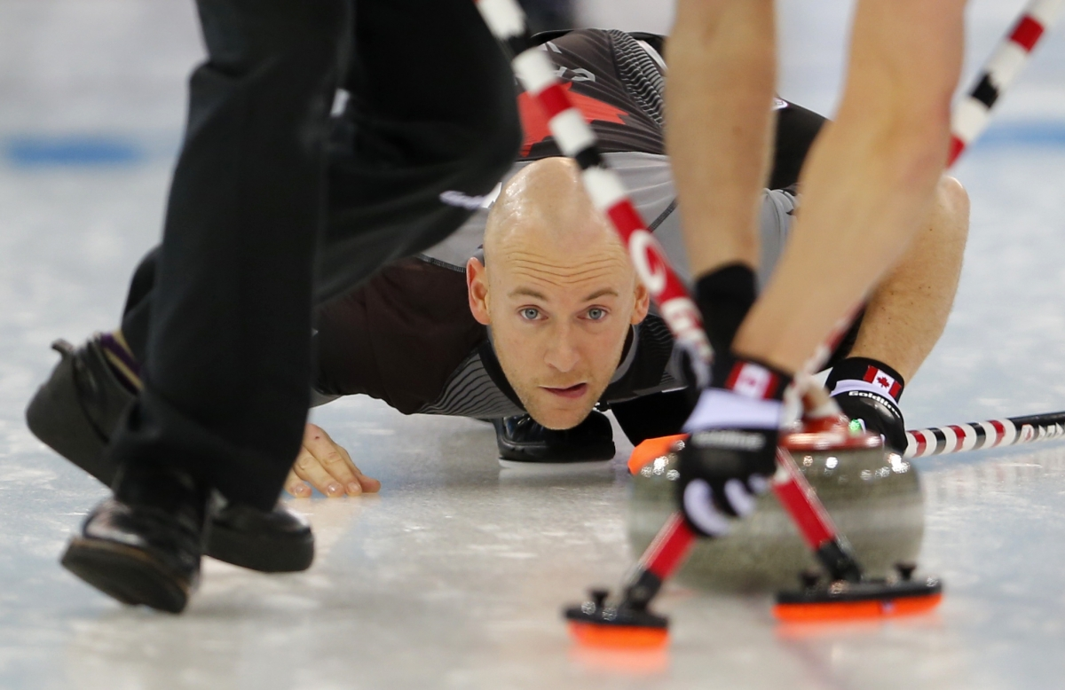 Canada curling team