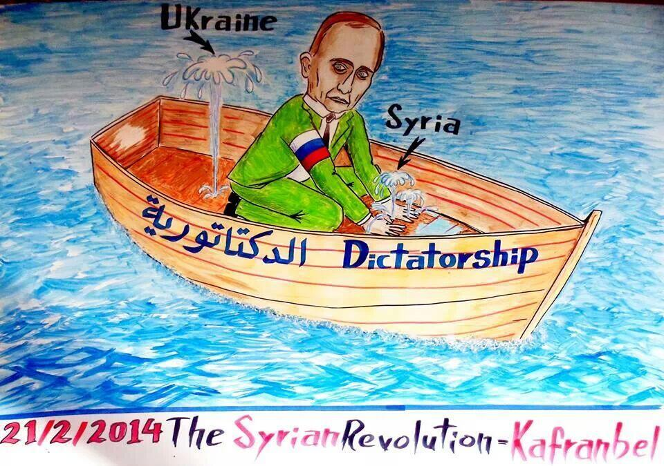 Putin Syria Ukraine