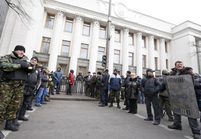 President Viktor Yanukovich flees Ukraine