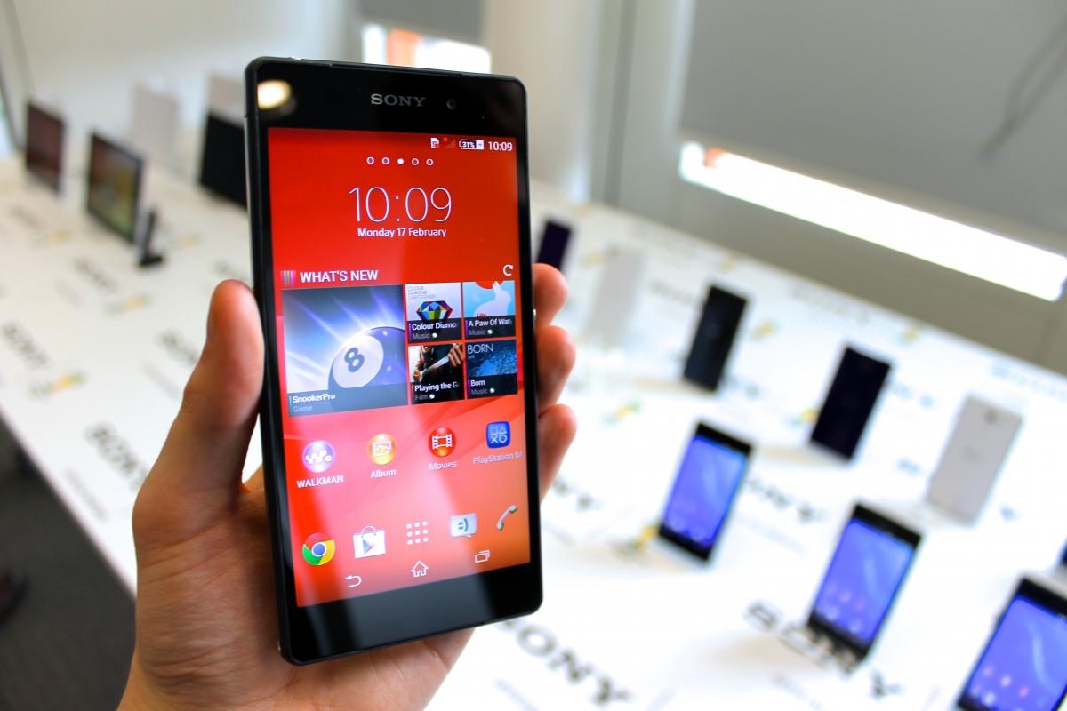 Sony Xperia Z2 on Sale 14 April in UK