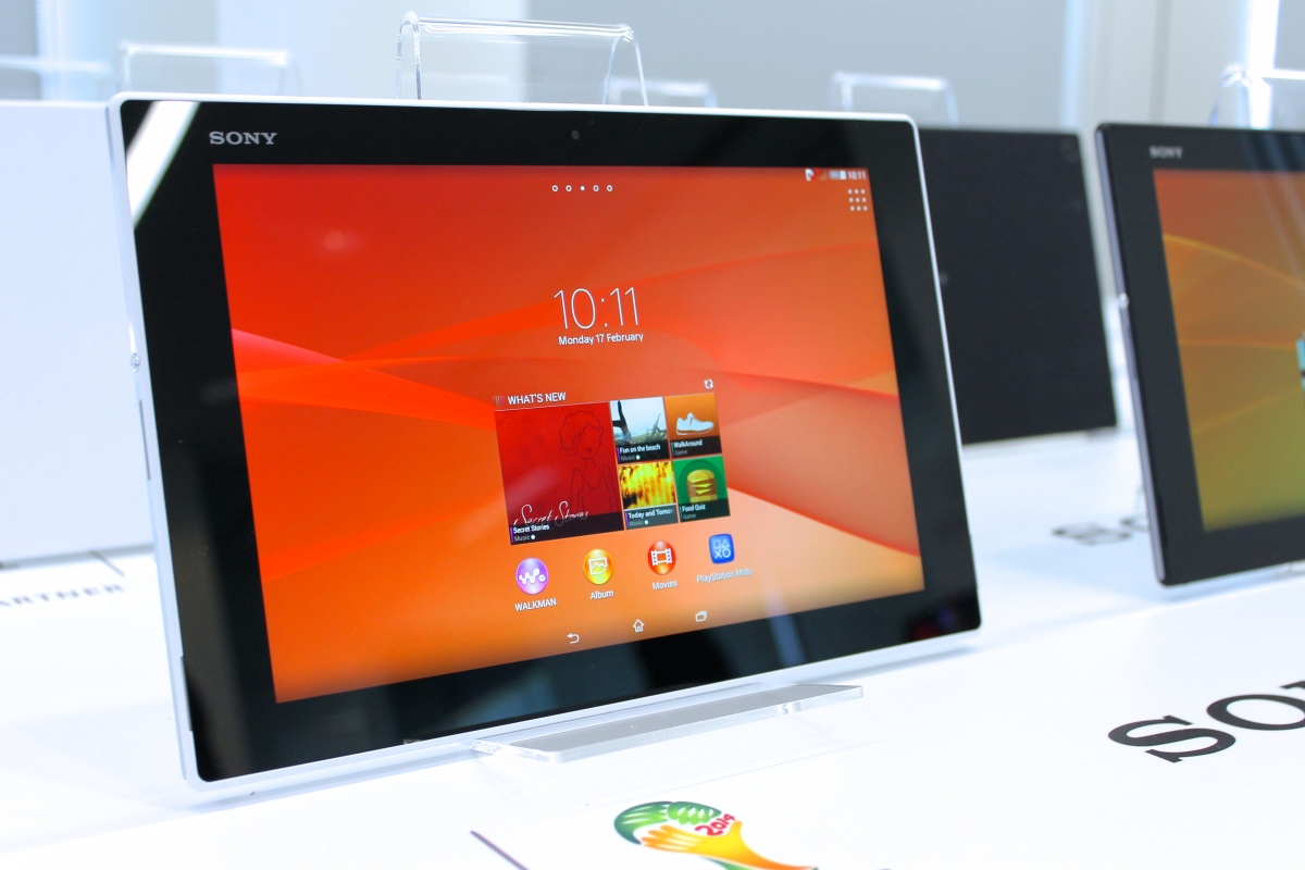 Sony Xperia Tablet Z2 is World's Thinnest Waterproof Tablet