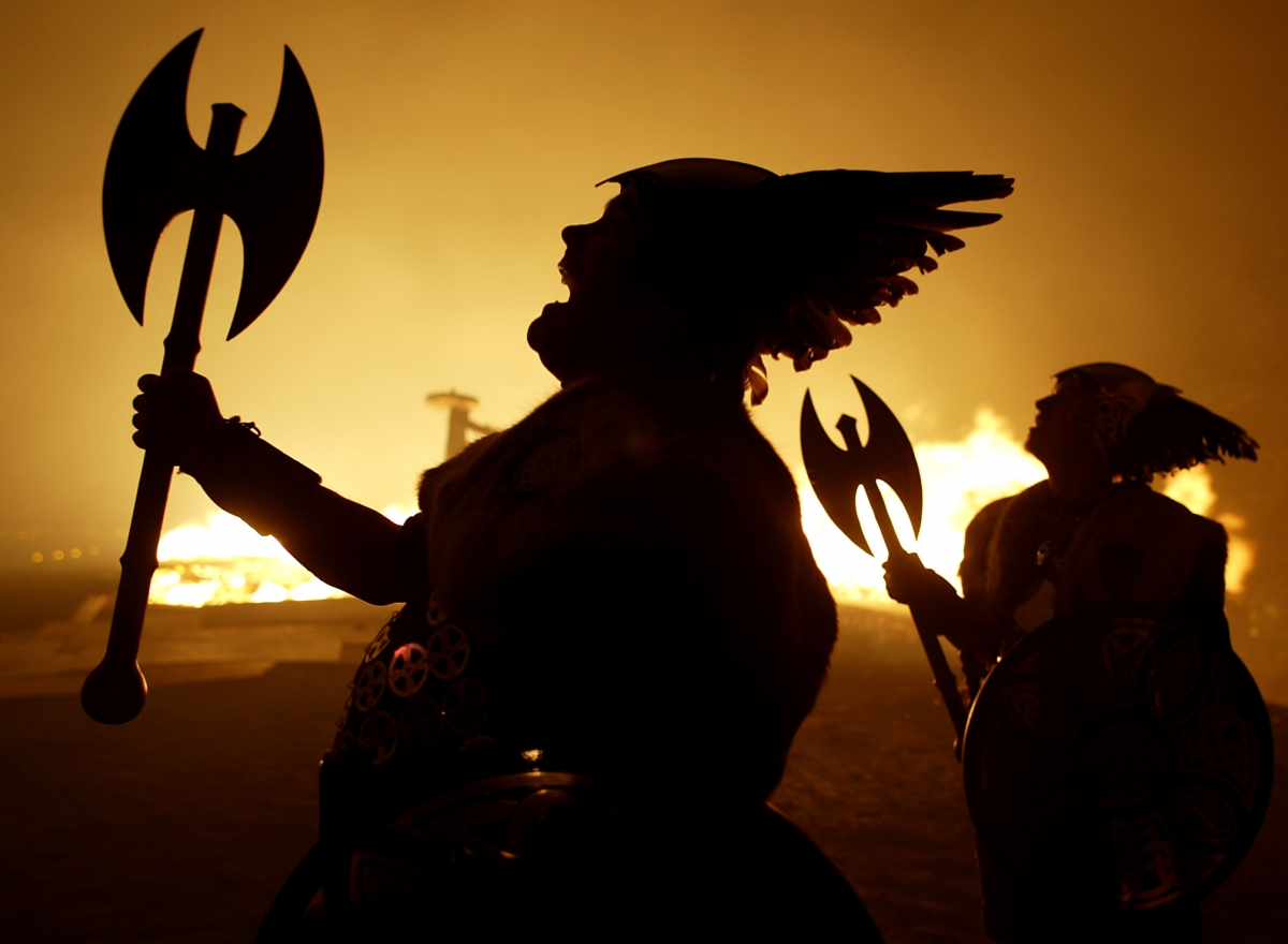 Ragnarok, the Viking Apocalypse, is said to bring about the end of the world on 22 February