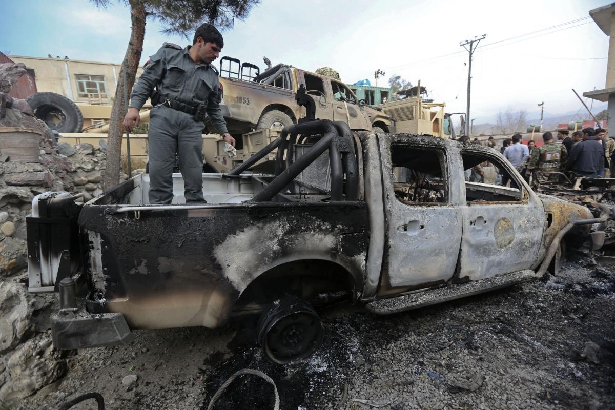 Afghan attack