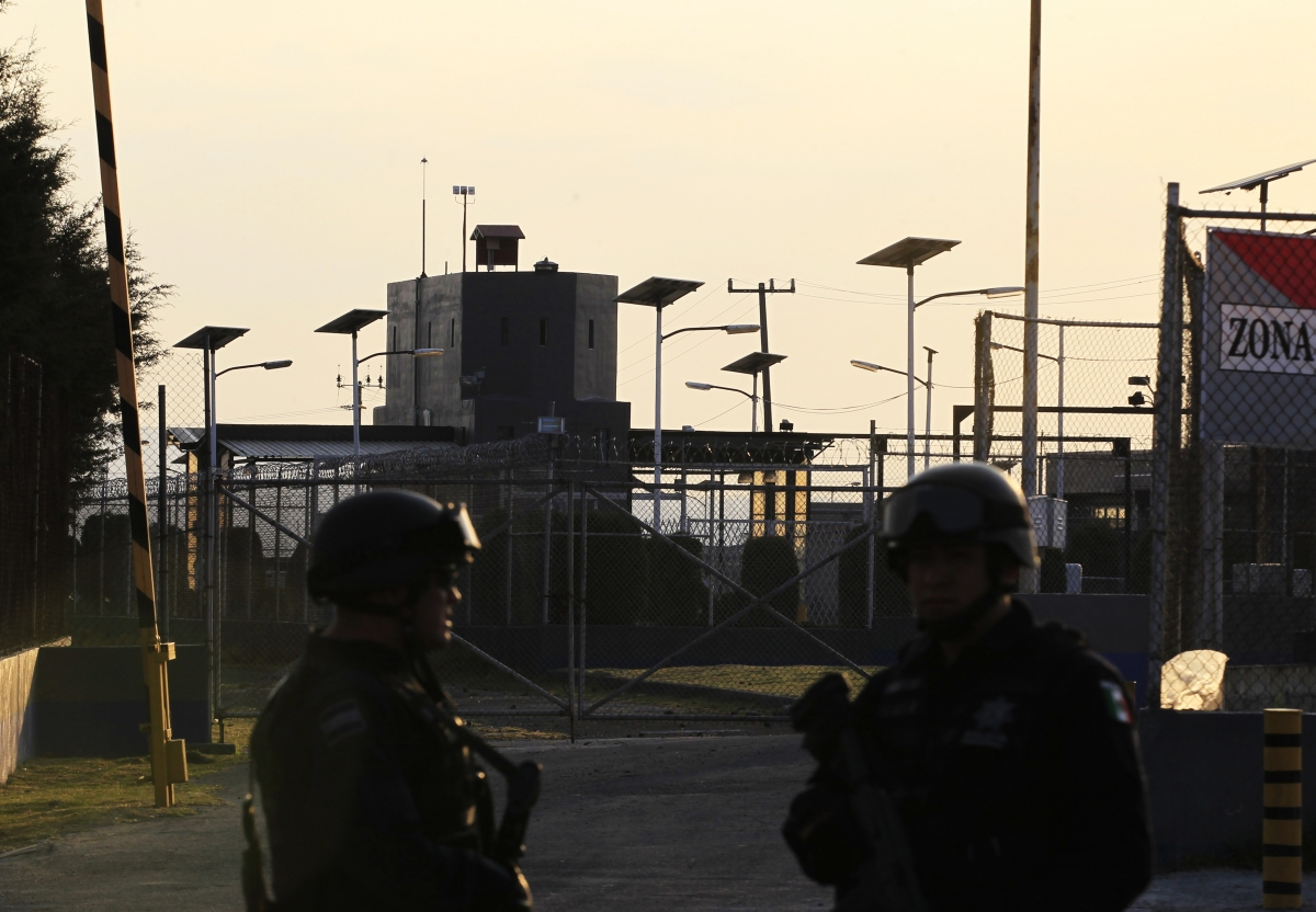 Altiplano prison in Almoloya de Juarez, where according to Mexican media Guzman is currently being held.