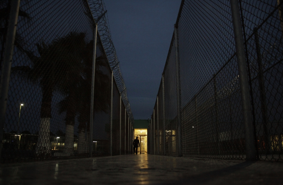 Prison in Monterrey, Mexico.