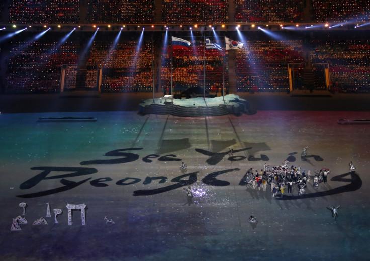 Sochi Closing Ceremony