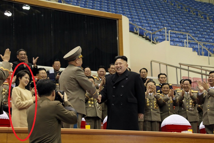 Kim Jong-un's wife pregnant?