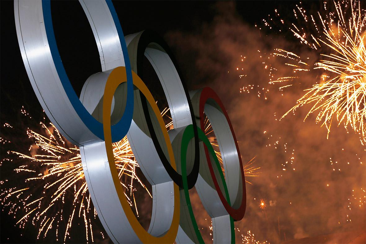 fireworks rings
