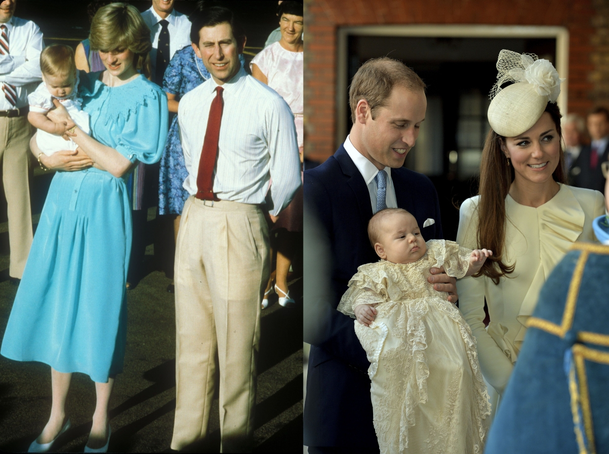 Charles, Diana, William and Kate