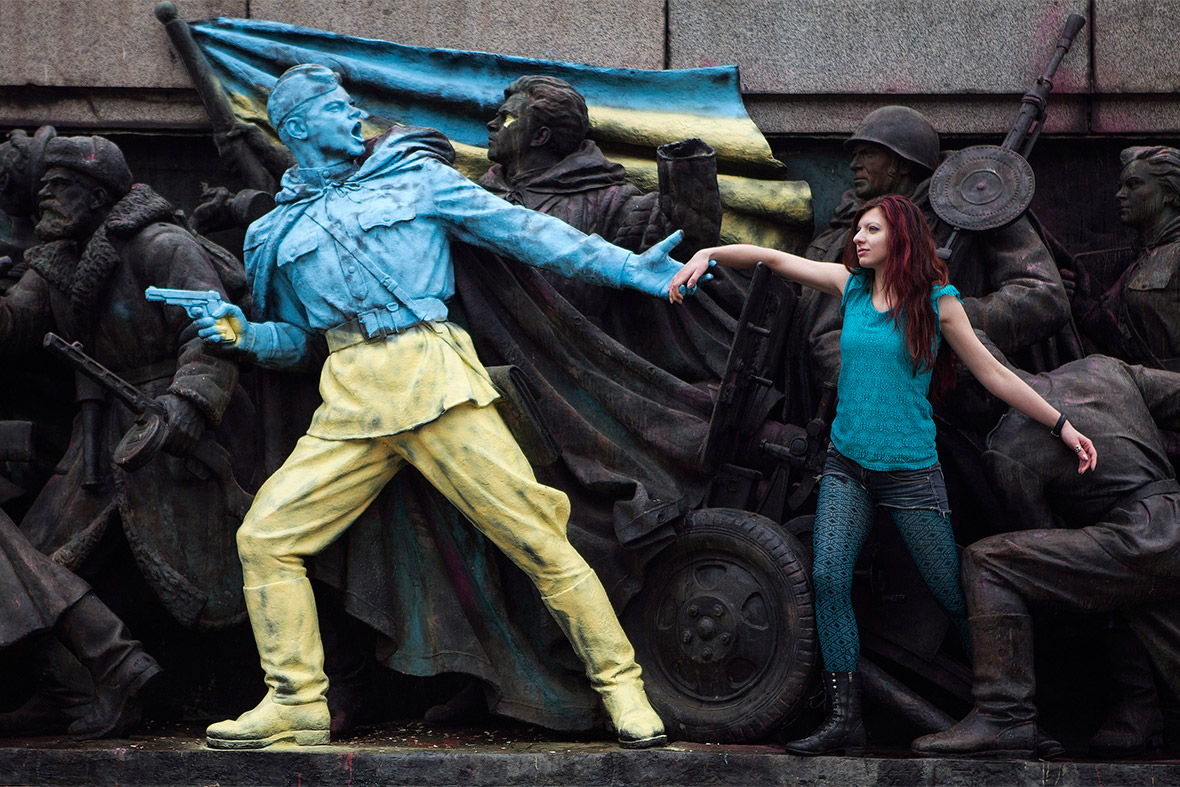 ukraine statue