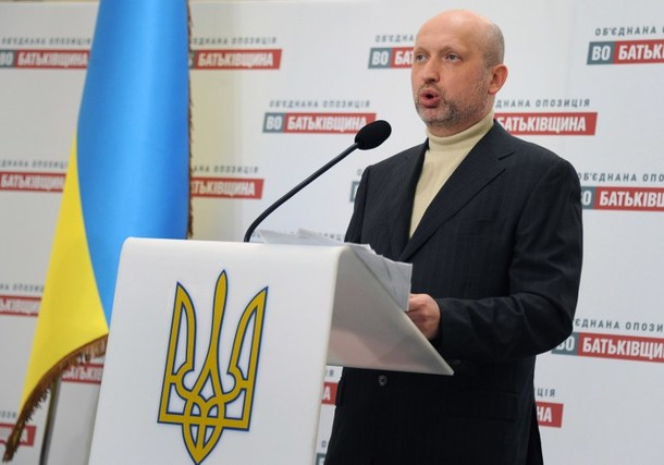 Ukrainian Interim Leader Wants European Choice