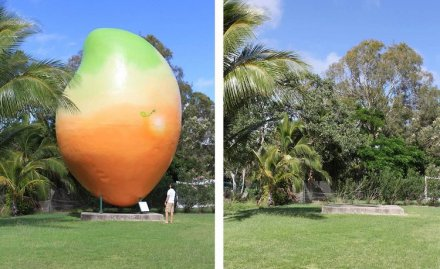 The Big Mango in Australia Has Been Stolen
