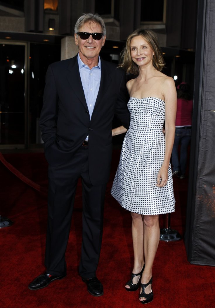 Actor Harrison Ford and Calista Flockhart